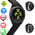 Android Smart Watch Phone Support Bluetooth Headset SIM Card WiFi GPS Wristwatch Heart Rate Monitor Fitness Tracker PK LF16 LEM5