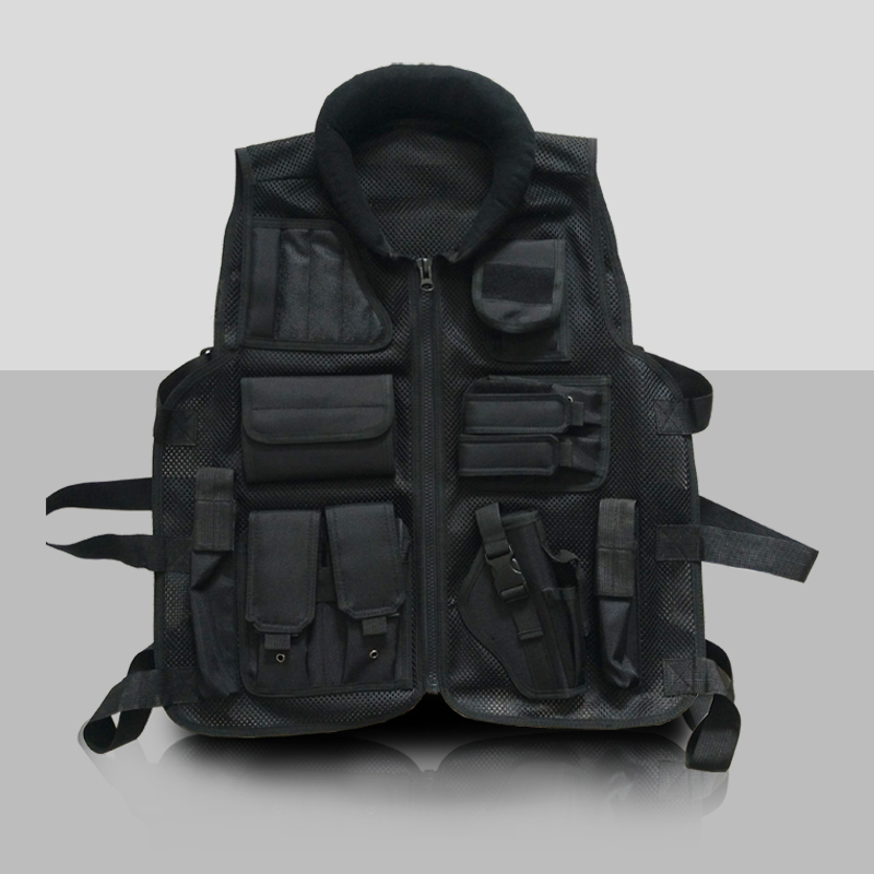 veste tactique gilet tactique police high-quality black mesh molle weste polizei schutzweste tactical gear voodoo tactical набор полицейского с пистолетом кобурой ремнем значком и жетоном polizei united police set блист