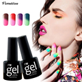 Verntion 2017 New Chameleon Temperature Change Color UV Gel Varnish 29 Colors Soak Off LED Mood Nail Polish gel Lacquer