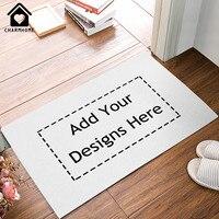 CHARMHOME מותאם אישית שפשפת מחצלת דלת בית תפאורה Printe גודל שטיח שטיחי Mat מקורה רצפת מטבח חדר האמבטיה 40x60 ס