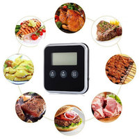 Temperature BBQ Cooking Meat Hot Water Measure Probe Digital Lcd Display Probe Timer Kitchen Tools