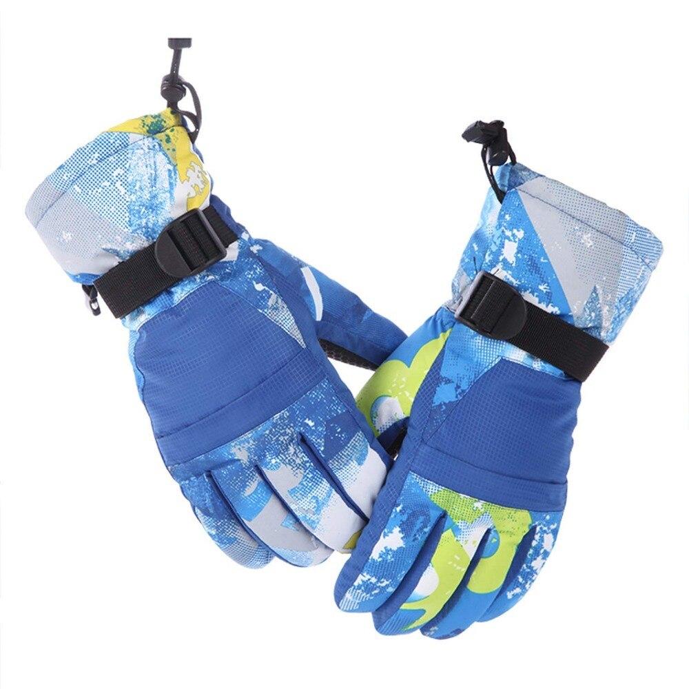 Ski Gloves Waterproof Winter Warm Mittens Windproof Motorcycle Snowboard Men Women
