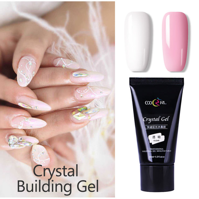 30ml Poly Gel Quick Building Nail Tips Finger Extension Glue