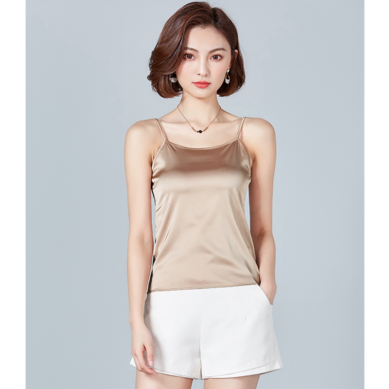 New Women Camis Summer tank tops Sleeveless solid color office lady casual Classic Basic style vest