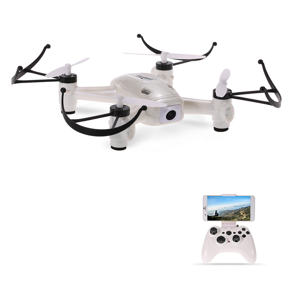 Mini Drone Spinner Helicopter L8HW Wifi FPV Drone 720P Camera Altitude Hold 2.4G 6-axis Gyro RTF RC Quadcopter high tech flytec t18 wifi fpv mini drone 6 axis 2 4ghz 4 channels rc racing quadcopter 720p video camera fpv helicopter