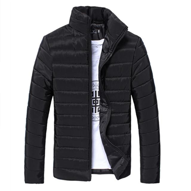 O envio gratuito de 2016 nova jaqueta de inverno masculino ultra luz algodão homens jaqueta de pato para baixo casaco jaqueta roupas jaqueta jeans dos homens roupas