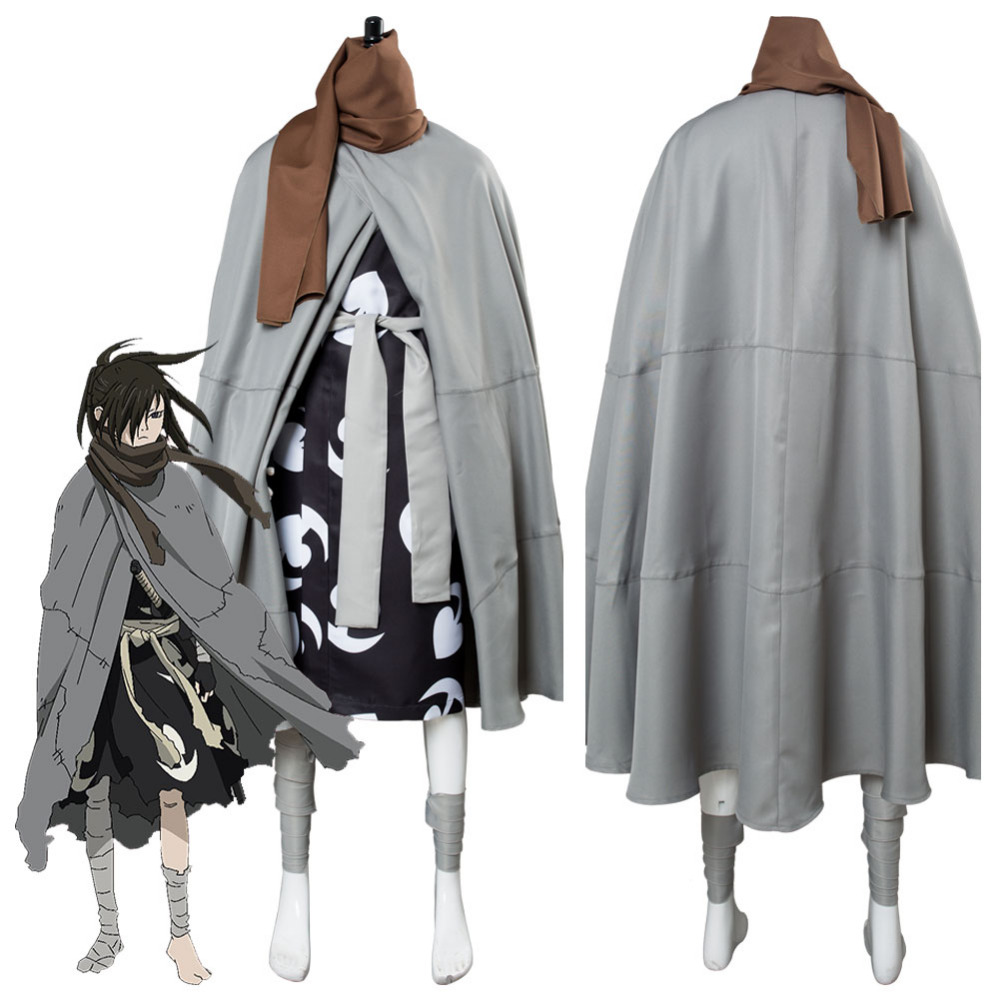 Anime Dororo Hyakkimaru Outfit Cosplay Costume Halloween Carnival Costumes Custom Made