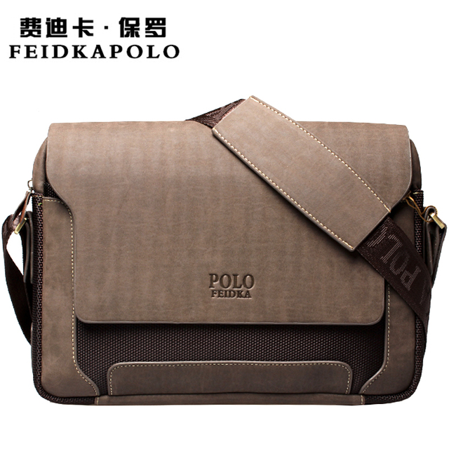 2015 Nueva Moda Famosos hombres de la Marca Bolsas de Mensajero de cuero Mate Oxford Vintage Para Hombre Diseñadores Del Bolso Del Hombre Bolsa de Viaje 8901