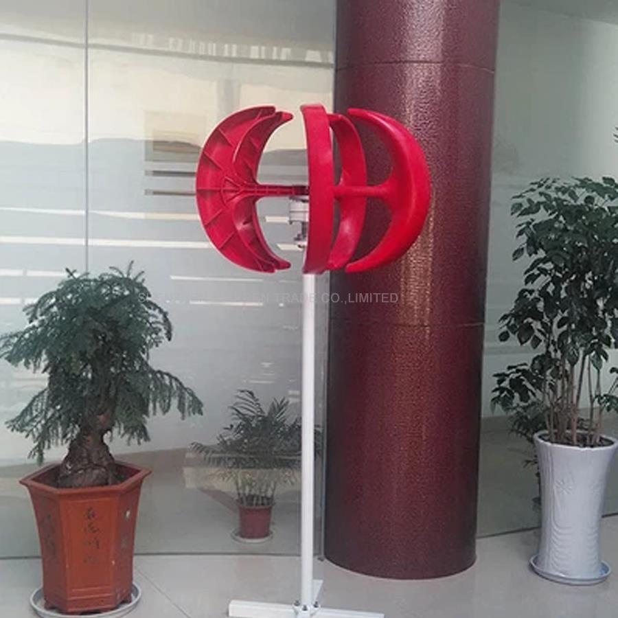300 W 12 V petite belle maison éolienne NE-300S, AC 3-Phase aimant Permanent générateur Fiber de verre lames CE RoHS ISO9001 - 4
