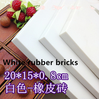 DIY The Cheapest High Quality White Large Professional Carving Rubber Stamp Hand Stamp Stamp Free Shipping
