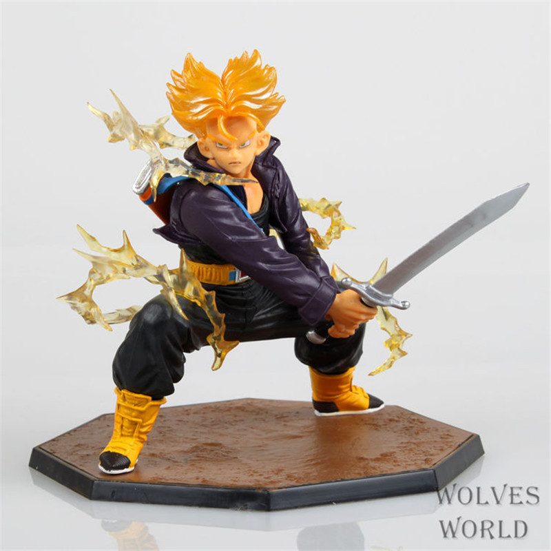 "Japan Anime Dragon Ball Z Figuarts Zero Super Saiyan """"Trunks"""" PVC Action Figure Collection Model Toys Brinquedos """