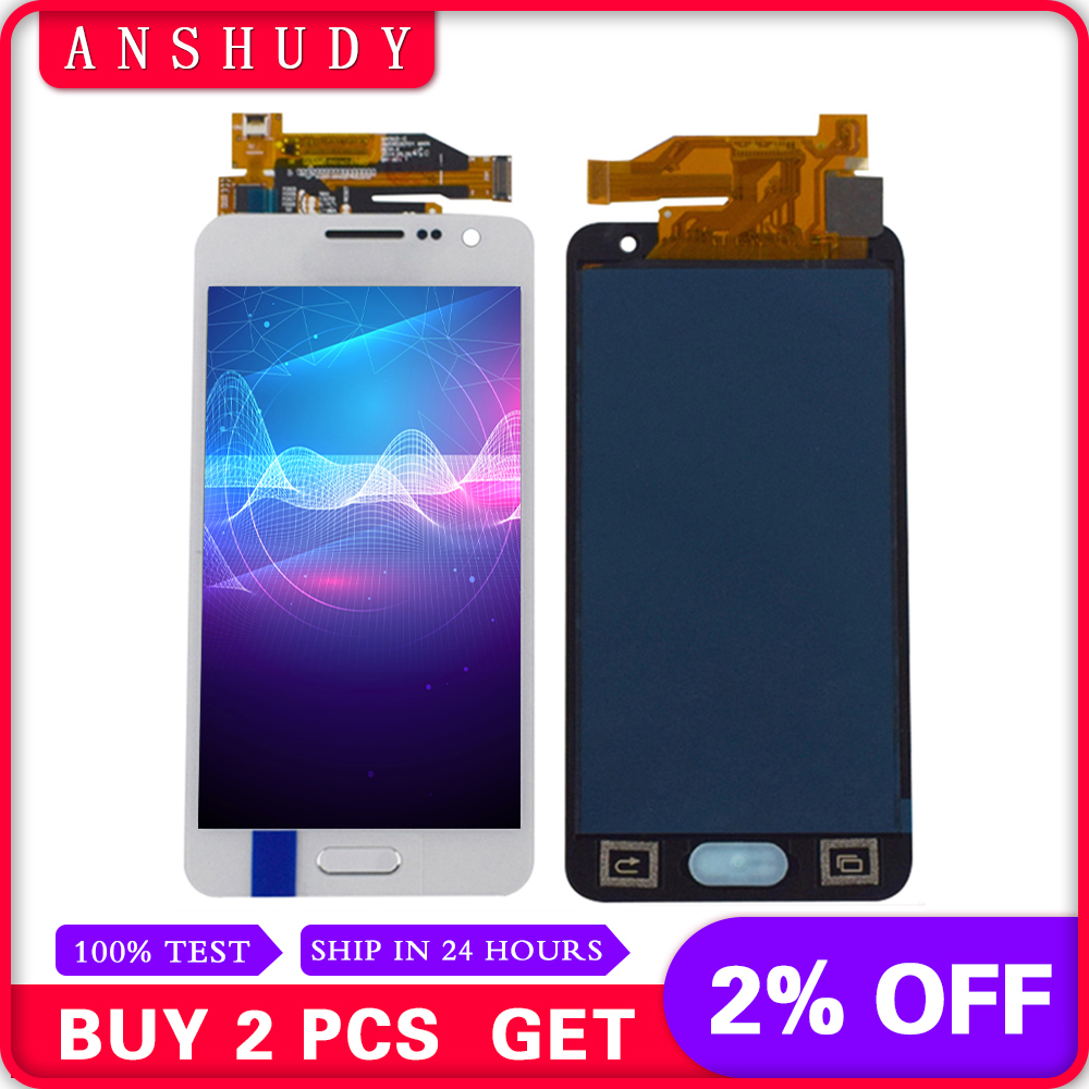 For Samsung Galaxy A3 2015 A300 SM- A300X A300H A300FU A300FN LCD Display Panel Module + Touch Screen Digitizer Sensor AssemblyFor Samsung Galaxy A3 2015 A300 SM- A300X A300H A300FU A300FN LCD Display Panel Module + Touch Screen Digitizer Sensor Assembly