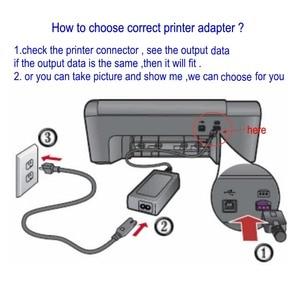 Image 3 - 0957 2259 32 В 0957 мА адаптер переменного тока зарядное устройство для принтера HP 0A957 2105 2271 0957 2230