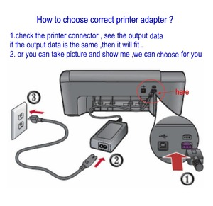 Image 3 - 0957 2259 32V 1560MA AC Adapter Voeding Lader Voor HP Printer 0A957 2105 0957 2271 0957  2230