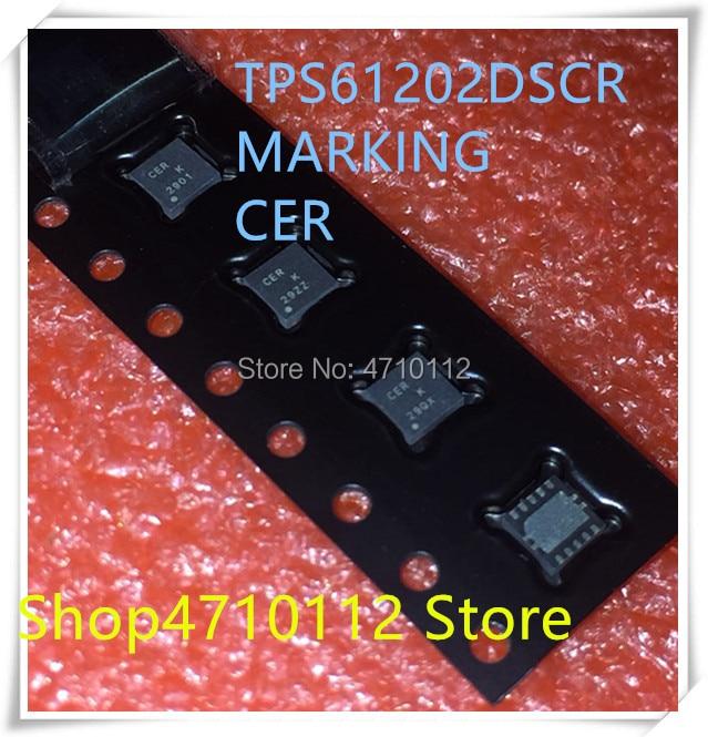 NEW 10PCS/LOT TPS61202DSCR TPS61202 MARKING CER WSON-10 IC