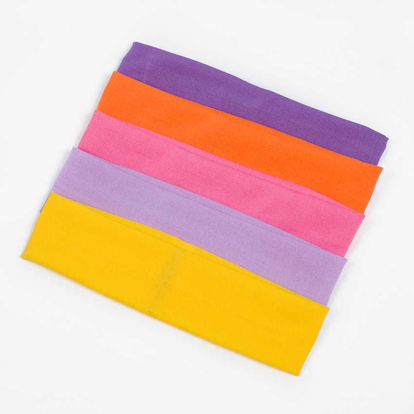 1PC di Stile di Modo di Assorbire Il Sudore Della Fascia di Colore Della Caramella Fascia Dei Capelli Popolare Accessori Per Capelli per Le Donne
