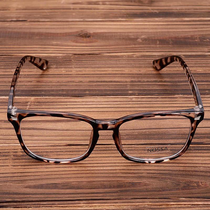 Yang Sangat Baik Pria dan Wanita Kacamata Kacamata Vintage Kacamata Bingkai Miopia Optik Kacamata Bingkai Besar Kacamata Lensa