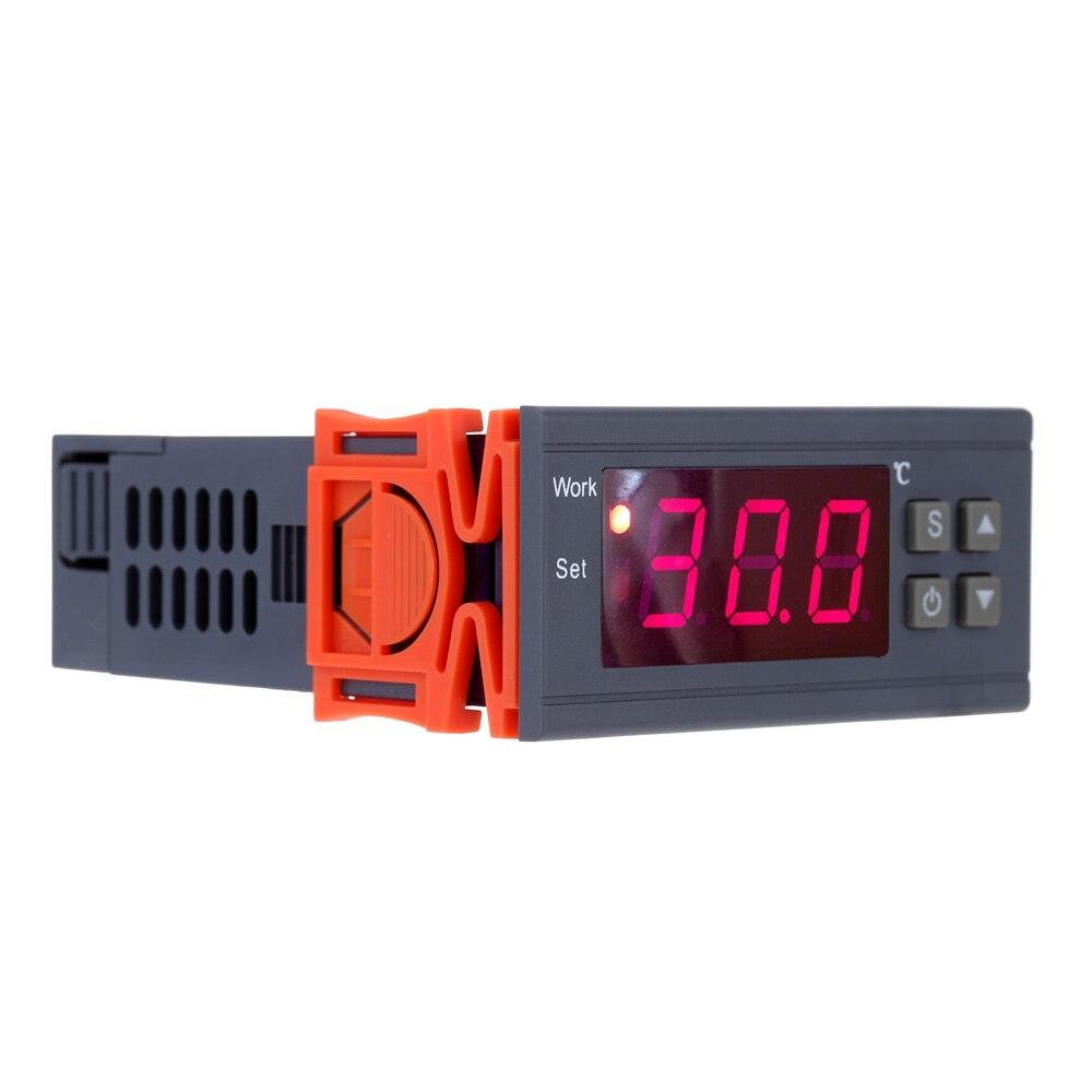 250 V 10A termómetro Digital termoregulador controlador de temperatura termostato para la incubadora de termopar-50 ~ 110 grados Sensor
