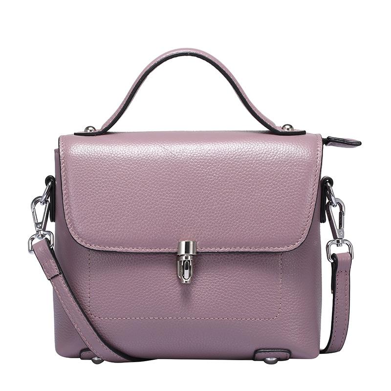 2016 new style women Genuine leather Crossbody Bag Fashion Small Women Shoulder Bag famous brand luxury