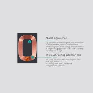 Image 4 - Nillkin iPhone 6 6 s 7 7 プラスワイヤレス充電レシーバーケース磁気チーワイヤレス充電レシーバーパッド銅コイルパッチ
