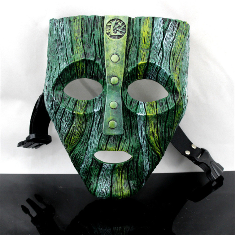 Movie Loki Mask Cosplay Costume The God of Mischief Masquerade Replica Halloween Cosplay Props