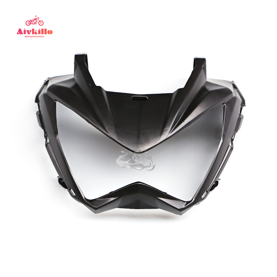 ABS Unpainted Headlight Head Nose Front Fairing For 2013-2015 Kawasaki Ninja 300