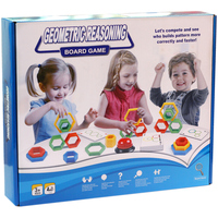 Geometric Reasoning Board Game Concentration Endurance Training Games High Quality ABS Plastic Education Game For Kids