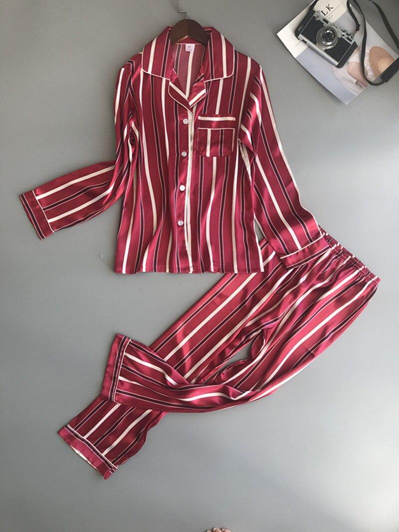 Spring New Long Section Printing Women   Pajama     Set   Sweet Fashion   Pajamas