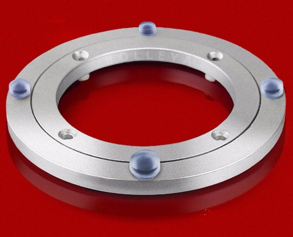 """Premintehdw 120mm 4.7 """"nieuwe Ontwerp Lazy Susan Aluminium Kogellager Draaitafel Lagers"""
