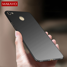 Фотография MAKAVO Case For Xiaomi Redmi Note 5A Prime 360 Protection Slim Matte Hard Back Cover Phone Cases For Xiaomi Redmi Y1 / Y1 Lite