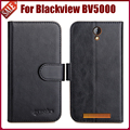 Blackview BV5000 Case 6 Colors Fashion Luxury Protective Flip Leather Case For Blackview BV5000 Phone Cover Wallet Style
