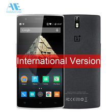 Oneplus One Snapdragon 801 Quad Core Cell Phone 3G RAM 64G ROM Android 5.0 Mobile Phone 5.5 Inch 13MP Camera 4G LTE Smartphone