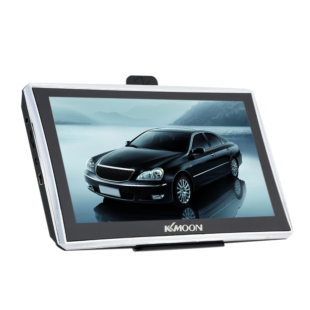 2016 KKmoon 7 HD Touch Screen Portable Car Truck GPS Navigator FM MP3 MP4 4G ROM+All Country Maps Russian Belarus USA Europe kkmoon 7 inch touch screen gps navigator multi language mp3 mp4 fm car gps navigation