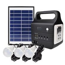 Noite Sistema de Carregamento Solar de Energia Móvel Portátil de Acampamento Ao Ar Livre CONDUZIU a Iluminação de Emergência Cartão Altifalante Bluetooth Speaker