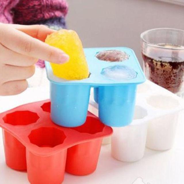 Ice Cube Shot Shape Silicone kitchen utensils set