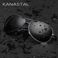 KANASTAL Classic Pilot Sunglasses Polarized Men Women Aviation Sunglas