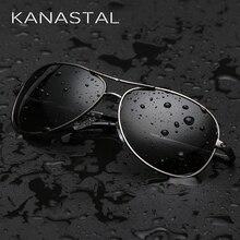 KANASTAL Classic Pilot Sunglasses Polarized Men Women Aviation Sunglasses Brand
