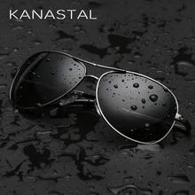 KANASTAL Classic Pilot Sunglasses Polarized Men Women Aviation