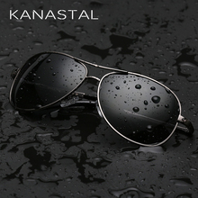 KANASTAL Classic Pilot Sunglasses Polarized Men Women Aviation Sunglasses Brand Desinger Driving Sun Glasses UV400 Free Shipping