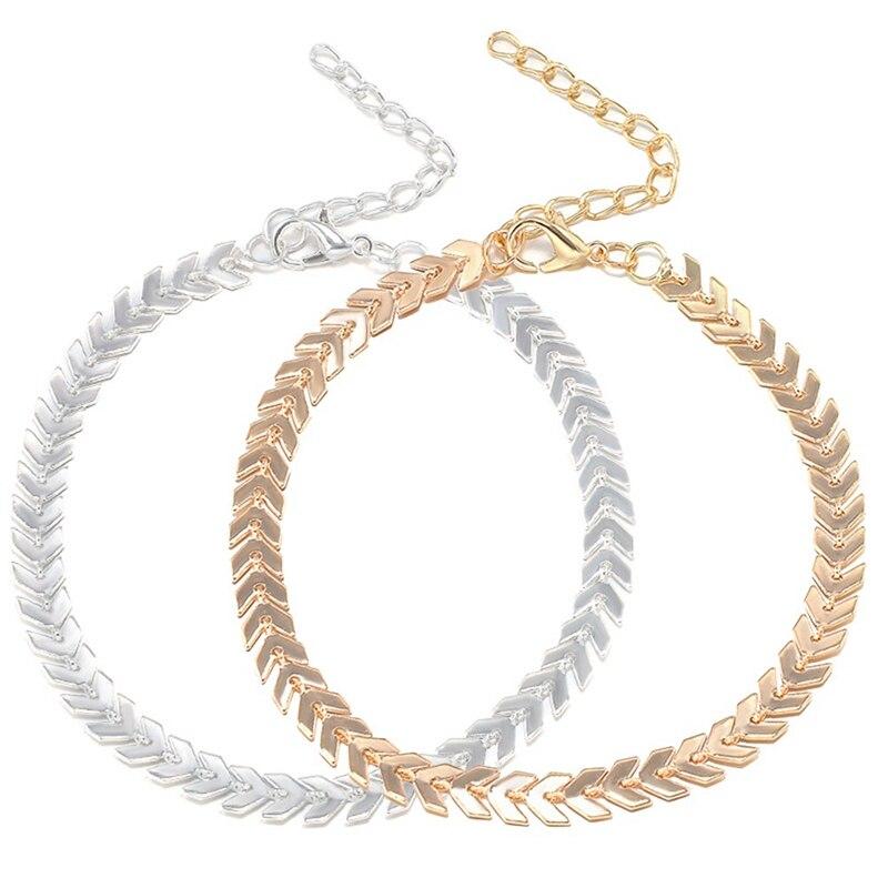 100% QualitäT Gold Silber Farbe Kupfer Runde Pailletten Fußkettchen Knöchel Chian Auf Fuß 2018 Sommer Mode Fuß Schmuck Armband Auf Die Bein