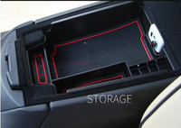 For Cadillac XT5 2016 2017 Black Engineering Plastics Central Console Armrest Storage Box Holder Container 1pcs
