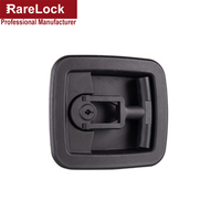 Rarelock Christmas Supplies MMS498 Switch Cabinet Lock Handle Lock Furniture Hardware Lock Keyless Handle Cabinet Cam