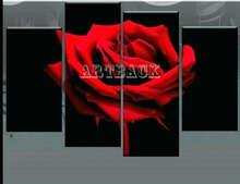 4 шт набор для алмазной вышивки «Красная роза»