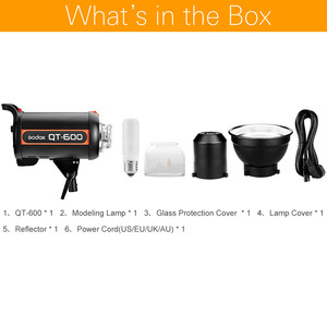 Image 2 - Godox QT600 600WS Fotografie Studio Flash Monolight Strobe Photo Flash SpeedLight Licht
