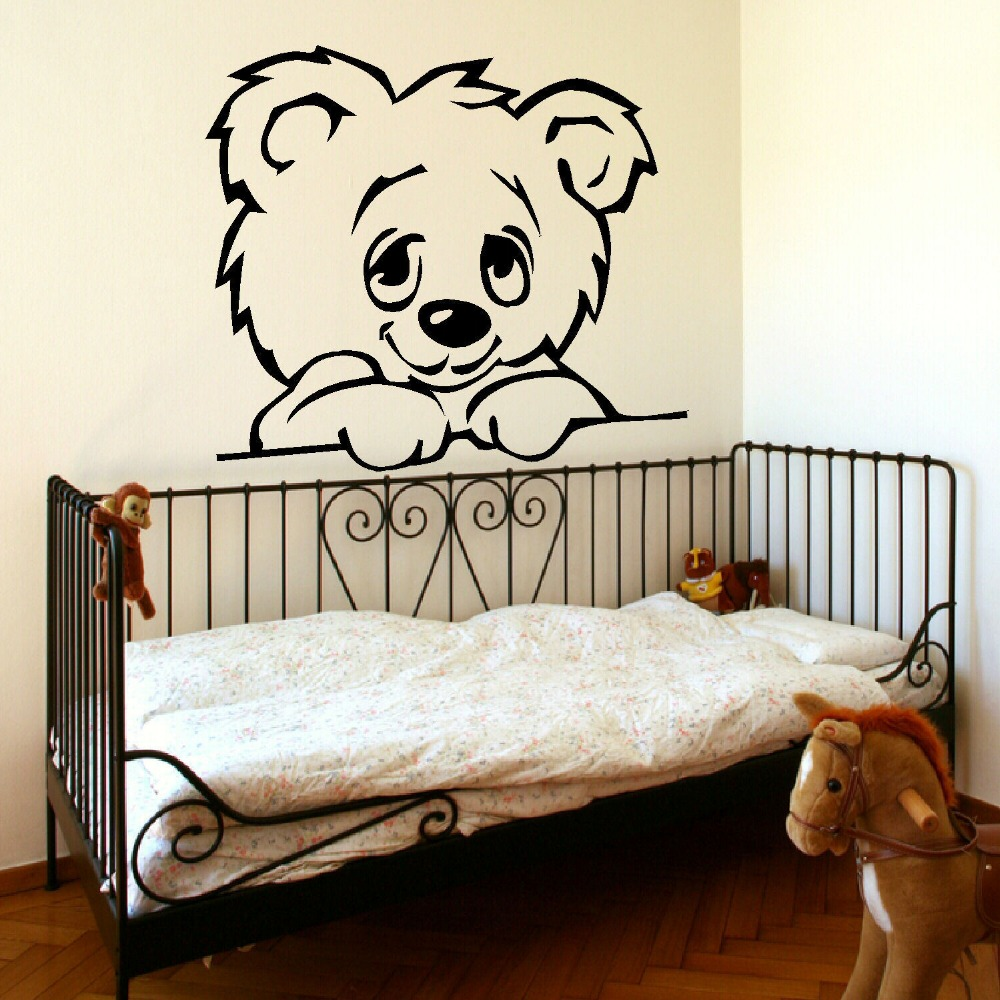popular giant wall murals buy cheap giant wall murals lots from large nursery baby teddy bear wall mural giant transfer art sticker poster decal vinyl stickers decal