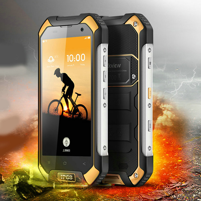 """Image 2 - Blackview BV6000S Original 4.7"""" IP68 Waterproof Rugged Mobile Phone 2GB+16GB 13.0MP 4500mAh Dual SIM 4G Tough Outdoor Smartphone-in Cellphones from Cellphones & Telecommunications"""