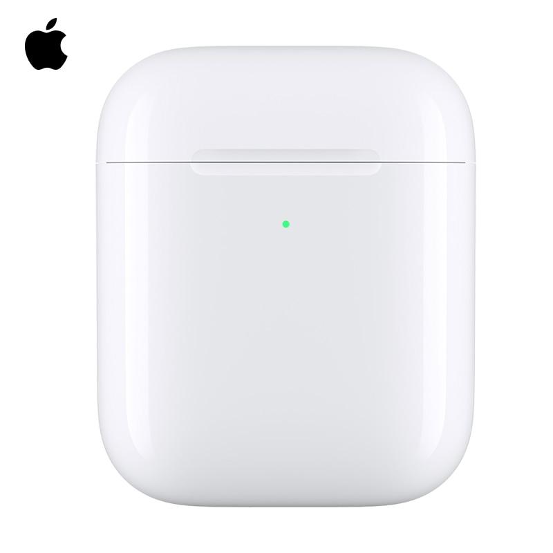 Coque de Charge sans fil Apple pour AirPods, casque Bluetooth, entrepôt de Charge