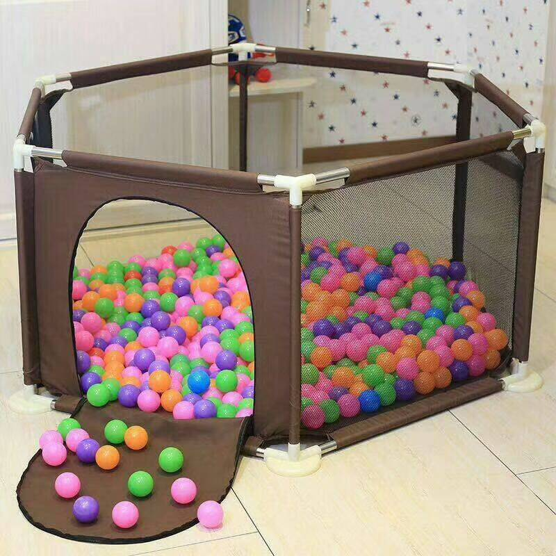 Baby Playpen Game Fence Toddler Crawl Step Fence Infant Play Yard Indoor Game Safety Fence Baby Portable Playpen for Children цены онлайн