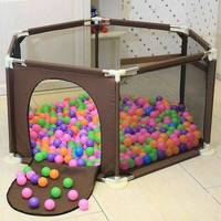 Baby Playpen Game Fence Toddler Crawl Step Fence Infant Play Yard Indoor Game Safety Fence Baby Portable Playpen for Children