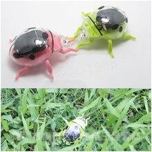 1pcs Hot Solar Ladybug Cute Ladybug Science Educational Toys For Children Wholesale